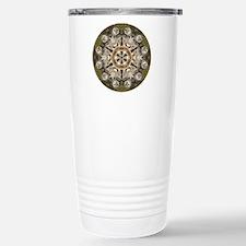 Barred Owl Mandala Travel Mug