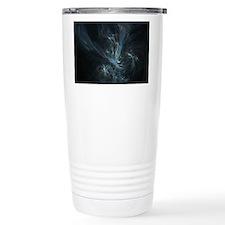 Flame Fractal Travel Mug