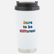 Dare to be Different Stainless Steel Travel Mug