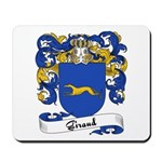 Giraud Family Crest Mousepad