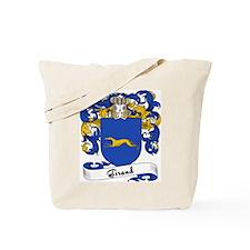 Giraud Family Crest Tote Bag