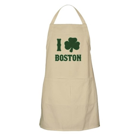 I Shamrock Boston BBQ Apron