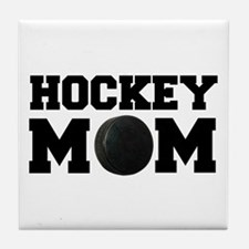Hockey Mom Tile Coaster