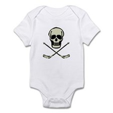 Hockey Skull Infant Bodysuit