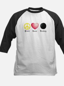 Peace, Love, Hockey Tee
