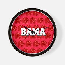BAMA Wall Clock