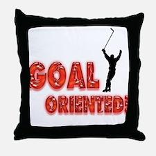 Goal Oriented Throw Pillow