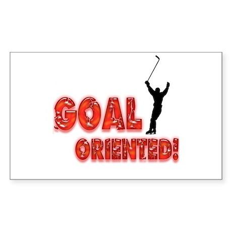 Goal Oriented Rectangle Sticker