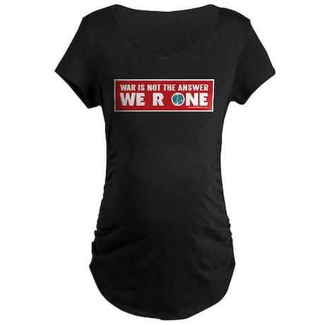 ANTI-WAR Maternity Dark T-Shirt