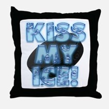 Kiss My Ice Throw Pillow