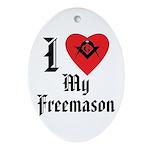 I love my Mason Oval Ornament