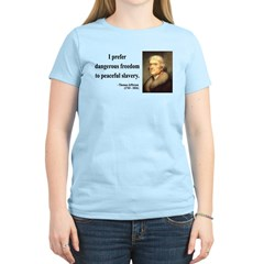 Thomas Jefferson 15 Women's Light T-Shirt