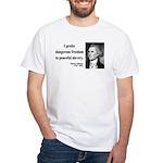 Thomas Jefferson 15 White T-Shirt