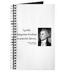 Thomas Jefferson 15 Journal