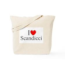 """I Love (Heart) Scandicci"" Tote Bag"