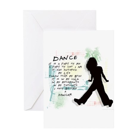 Become A Dancer Greeting Card
