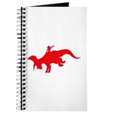 Red Rodeo Triceratops Journal