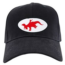 Red Rodeo Triceratops Baseball Hat