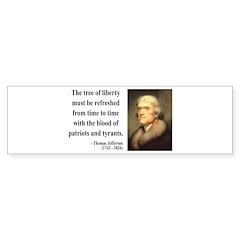 Thomas Jefferson 18 Bumper Bumper Sticker