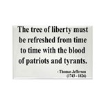 Thomas Jefferson 18 Rectangle Magnet
