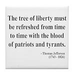 Thomas Jefferson 18 Tile Coaster