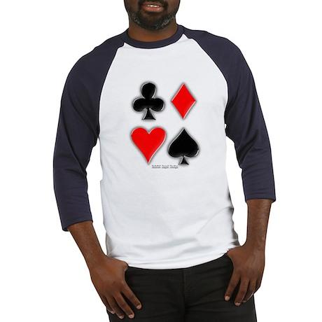 Playing Card Suits Baseball Jersey