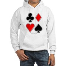 Playing Card Suits Hoodie
