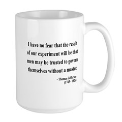 Thomas Jefferson 19 Large Mug