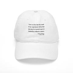 Thomas Jefferson 19 Baseball Cap