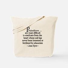 Prejudices Tote Bag