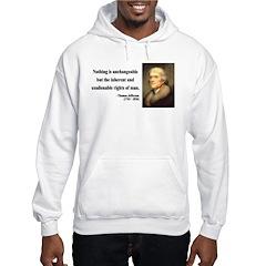 Thomas Jefferson 20 Hoodie