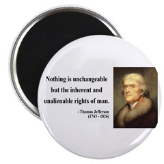 Thomas Jefferson 20 Magnet