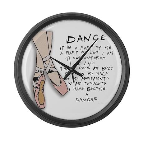Dance Large Wall Clock
