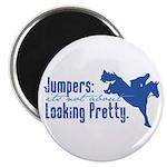Jumper Horse Magnet