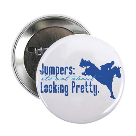 "Jumper Horse 2.25"" Button (10 pack)"