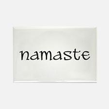 Namaste Rectangle Magnet