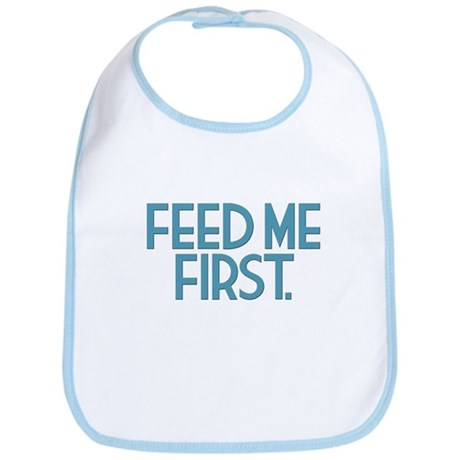 """Feed Me First"" Multiples Bib"