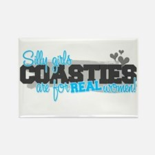 Real women: Coastie Rectangle Magnet