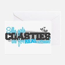 Real women: Coastie Greeting Card