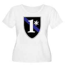 Unique Thin blue line T-Shirt