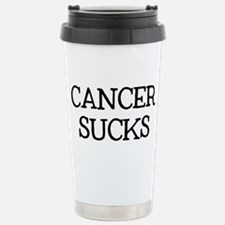 Cancer Sucks Travel Mug