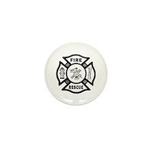 Fire Rescue Mini Button (10 pack)