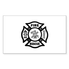 Fire Rescue Decal