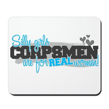 Real women: Corpsman Mousepad