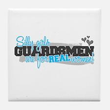 Real women: Guardsman Tile Coaster