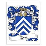Gras Family Crest Small Poster