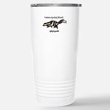Western Spotted Skunk Stainless Steel Travel Mug