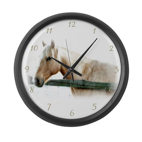 Horse Large Wall Clock