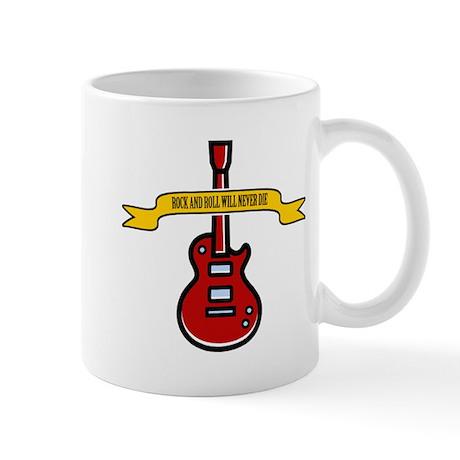 Rock Will Never Die Mug