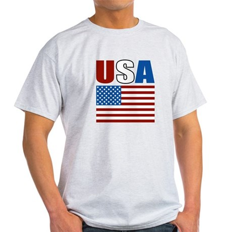 Patriotic USA Light T-Shirt
